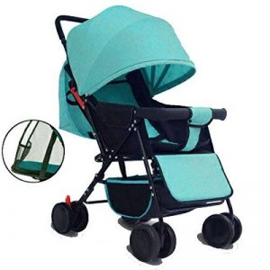 WU ZHI Chariot Bébé Pliable Portable Brouette Inclinable Bébé Enfant Landau,Green de la marque WU ZHI image 0 produit