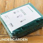 Wundergarden© - Grands sacs à déchets de jardinage XL par lot de 3 en tissu PP solide pour jusqu'à 270 litres de déchets de jardin, de feuilles, d'herbe, de plantes, de compost - format rond, tient debout et peut être plié -sacs à feuille, sac de jardin d image 4 produit