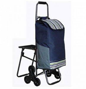 XIARI Chariot de transport léger à 6 roues pliable avec siège, a de la marque XIARI image 0 produit