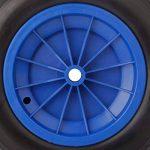YAOBLUESEA PU Roue de Brouette Increvable 3.50-8 Roue de Secours de la marque YAOBLUESEA image 2 produit