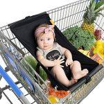 Yiwa Hamac portable de bébé portatif pour le trolley de chariot à provisions de la marque Yiwa image 2 produit